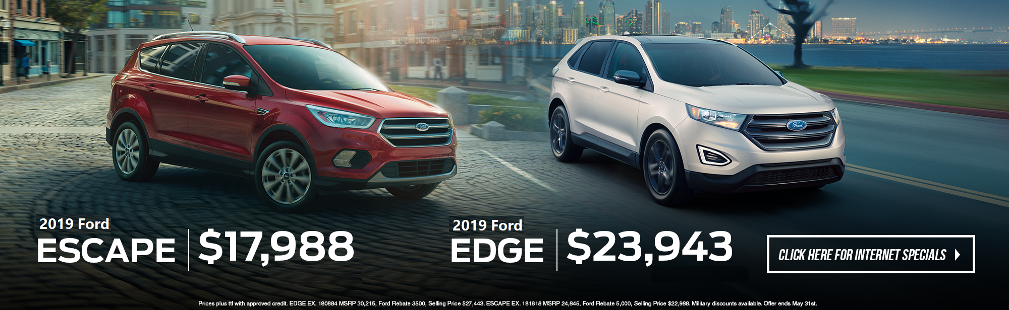 April Savings Ford Truck Month